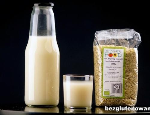 Bezglutenowe mleko ryżowe