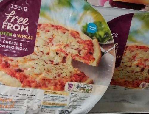 Mrożona pizza bezglutenowa z Tesco