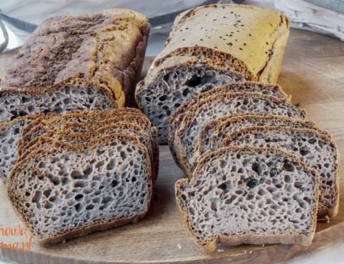 Bezglutenowy chleb gryczany dla alergika-z Oberży Pod Dzwonkiem
