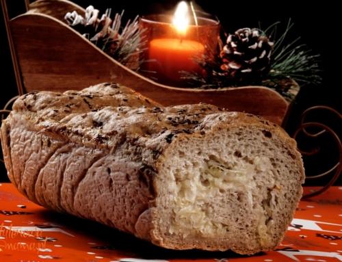 Tradycyjny kulebiak bezglutenowy na Wigilię