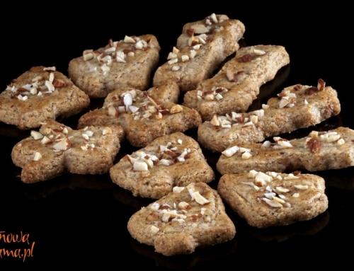 Kruche ciasteczka orzechowe bez glutenu