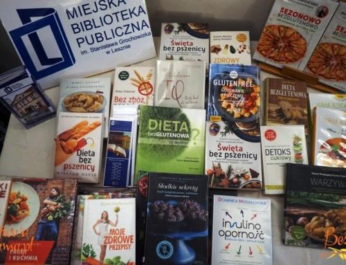 Książki o diecie bezglutenowej dla biblioteki w Lesznie