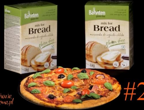 Klasyczna pizza bezglutenowa bez sera, zawsze się udaje – video