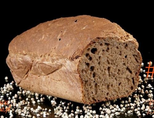Zdrowy bezglutenowy chleb gryczany – video