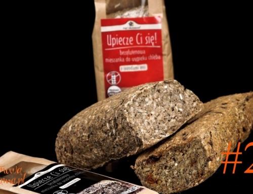 Zdrowy chleb bezglutenowy bez drożdży – video