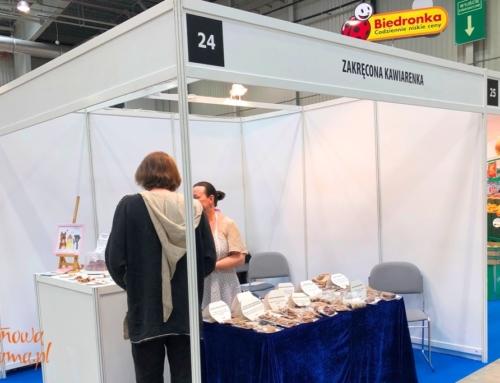 Stoisko sieci Biedronka na Gluten Free Expo 2018