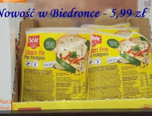 Promocja: chleb bezglutenowy Schär w Biedronce