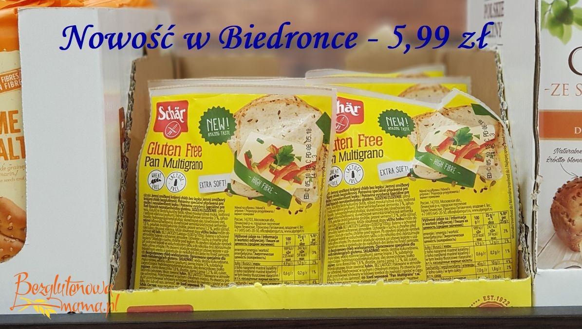 Promocja Chleb Bezglutenowy Schär W Biedronce
