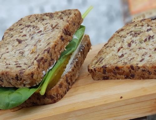 Nowy chleb bezglutenowy pełen ziaren z polskiej piekarni