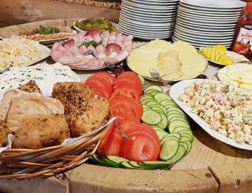 Bezglutenowe śniadanie w pensjonacie