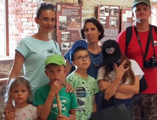 Bezglutenowe rodziny na zamku w Czorsztynie