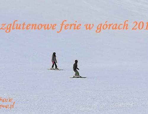 Zimowe ferie bez glutenu w górach – zapisy