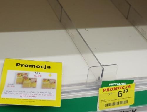 Promocja na chleb bezglutenowy 2+1 w Rossmannie