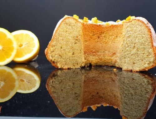 Cytrynowa babka piaskowa bez glutenu – na Wielkanoc
