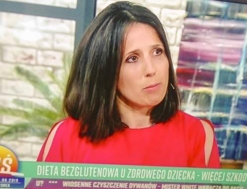 Obejrzyj – Bezglutenowa Mama w telewizji w Pytaniu na Śniadanie