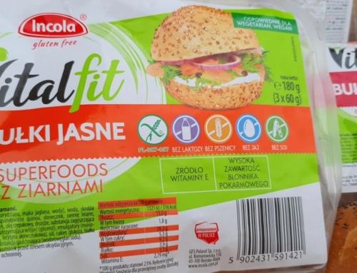 NOWOŚĆ: wegańskie bułki bezglutenowe Vitalfit Superoods