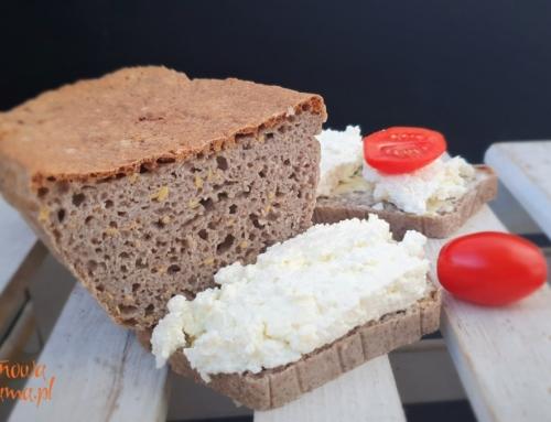 Chleb bezglutenowy ryżowo – gryczany od Bezglutenowej Mamy