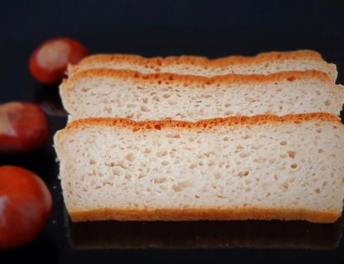 Kasztanowy chleb bezglutenowy dla dziecka – bez kukurydzy