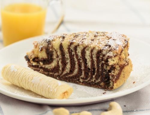 Pyszne ciasto – bezglutenowa zebra od Bezglutenowej Mamy