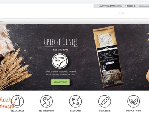 Nowy, bezglutenowy sklep internetowy – Smaki Diet