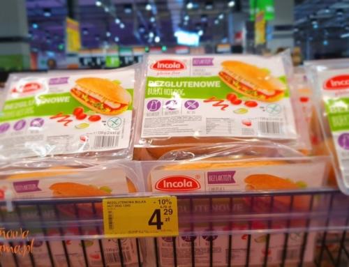 Duży wybór bezglutenowego pieczywa Incoli w Carrefour