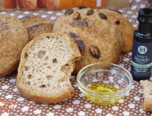 Owsiane bułki bezglutenowe z oliwą – Bezglutenowa Mama testuje