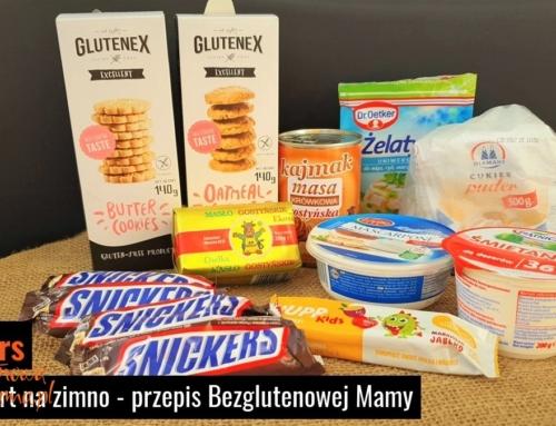 Bezglutenowy tort snickers – bez pieczenia, na zimno