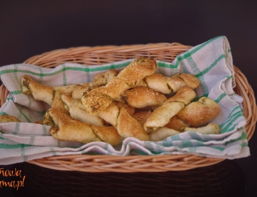 Włoskie, bezglutenowe paluchy chlebowe na Andrzejki 2019