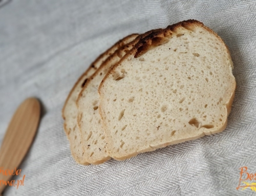 Jasny chleb bezglutenowy z mieszanki GRANO BEZ GLUTENU