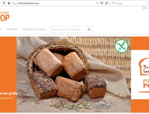 W gratisie chleb bezglutenowy Dr Żurek – w Friendly Food Shop