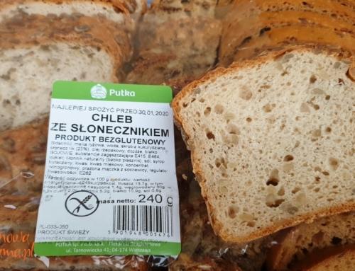 Chleb bezglutenowy ze słonecznikiem – nowość u Putki