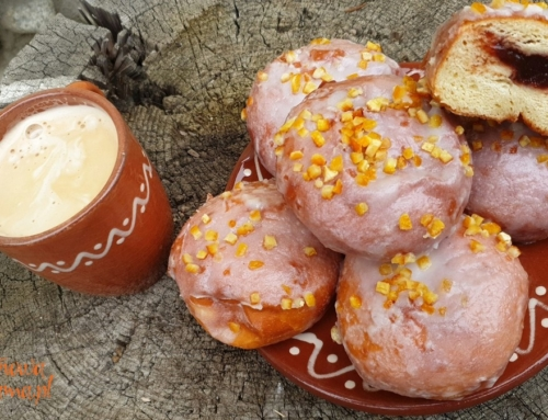 Pączki bez glutenu, pszenicy, laktozy, mleka i oleju palmowego