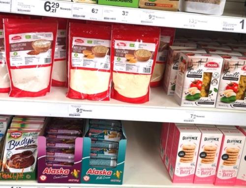 Jednorodne mąki bezglutenowe Incoli do kupienia w Tesco