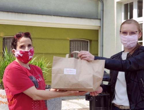 Ania kupiła w licytacji chleb bezglutenowy i pomogła Zoe