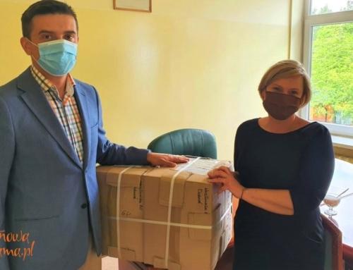 Firma Soligrano podarowała szpitalowi fartuchy ochronne