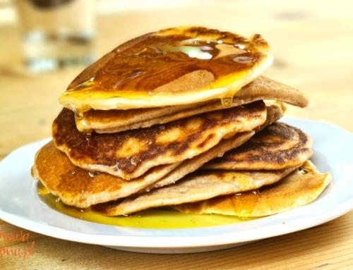 Puszyste pancakes bezglutenowe z cynamonem – prosty przepis