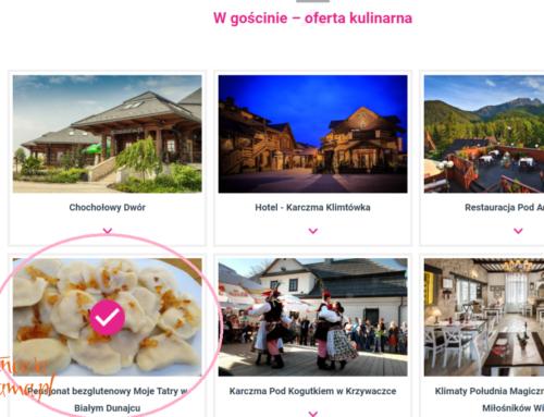 Bezglutenowa Polska głosuje na pensjonat Moje Tatry – a Ty?