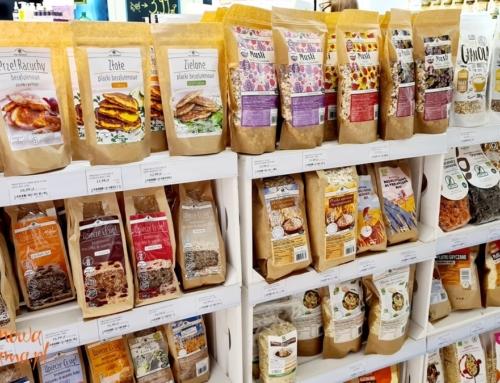 Produkty bezglutenowe, wegańskie, bez cukru, BIO