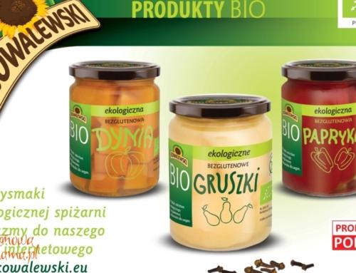 Nowy sklep internetowy z żywnością bezglutenową KOWALEWSKI BIO