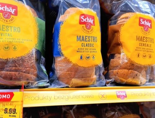 Mięciutkie chleby bezglutenowe Schär w dobrej cenie