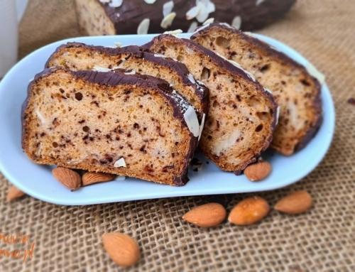 Wegańska babka cytrynowa – bez glutenu, jajek, mleka