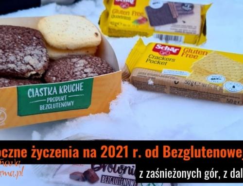 Noworoczne życzenia na 2021 r. od Bezglutenowej Mamy