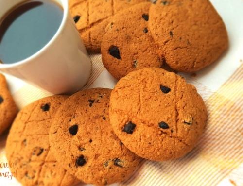 Przepis na naturalne ciasteczka bezglutenowe Puchatki z czekoladą