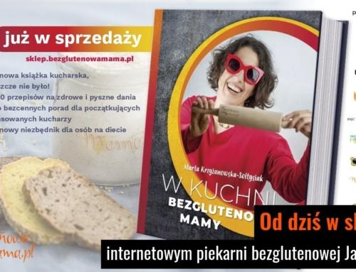 Książka Bezglutenowej Mamy w piekarni Jarzębińskich