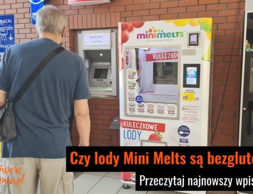 Czy lody Mini Melts są bezglutenowe?