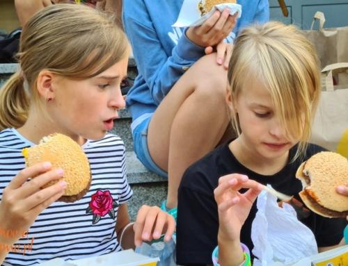 Dzieci zamówiły 180 burgerów bezglutenowych w Mc Donald's