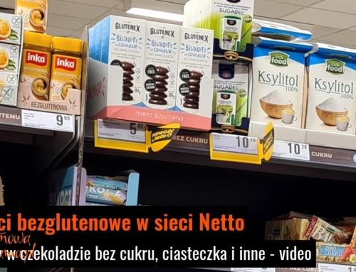 Nowości bezglutenowe w Netto – video